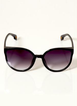 Óculos de Sol Oversized (Preto)
