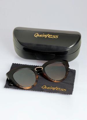 Óculos (Tartaruga e Marrom) Quintess