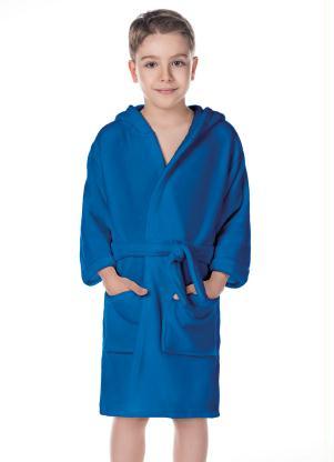 Roupão Flannel G (Azul Royal) (1 Peça)