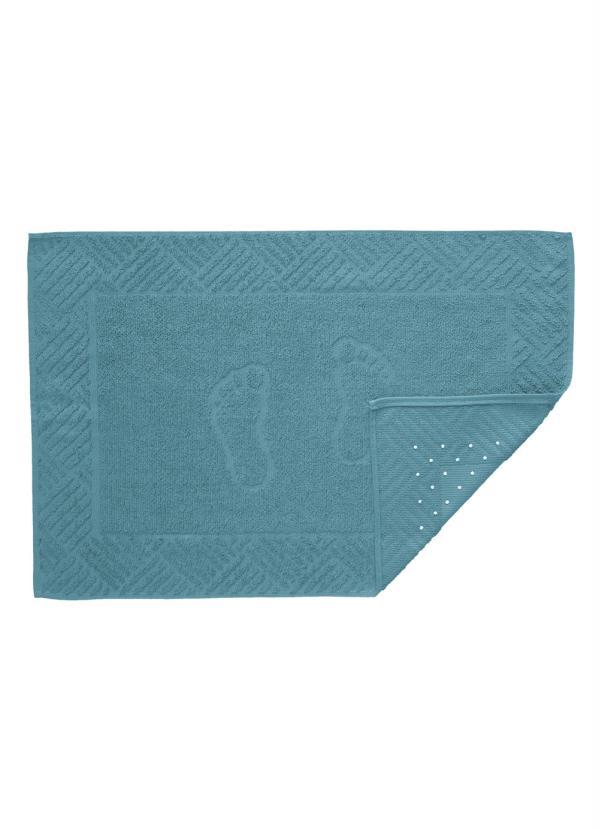 Piso Pézinho (Azul) com Antiderrapante (1 Peça)