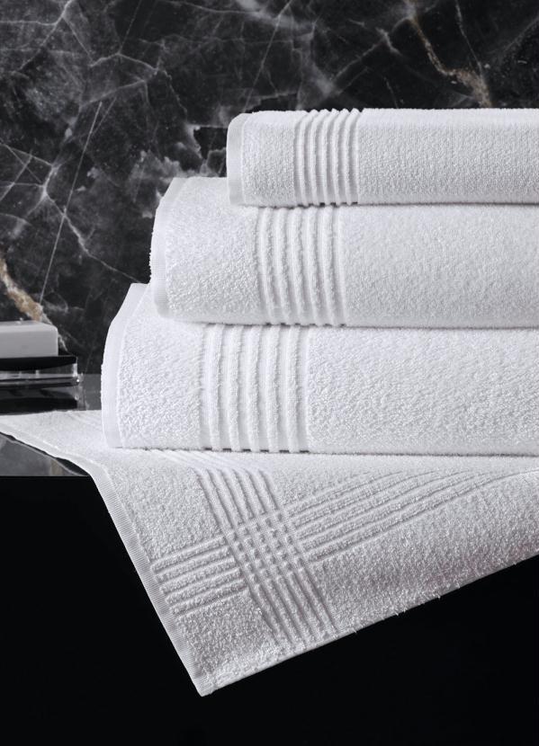Toalha de Rosto Soft (Branca) (1 Peça)