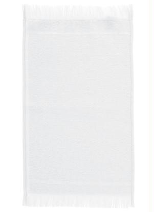 Toalha Lavabo (Branca) Felpuda (1 Peça)