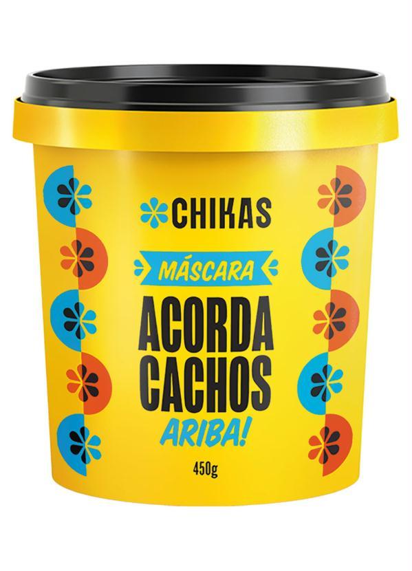 Máscara Chikas Acorda Cachos