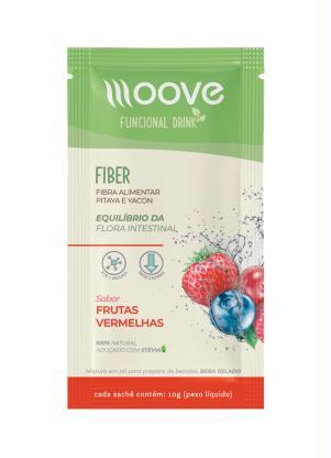 Drink Funcional Fiber Moove (Frutas Vermelhas)