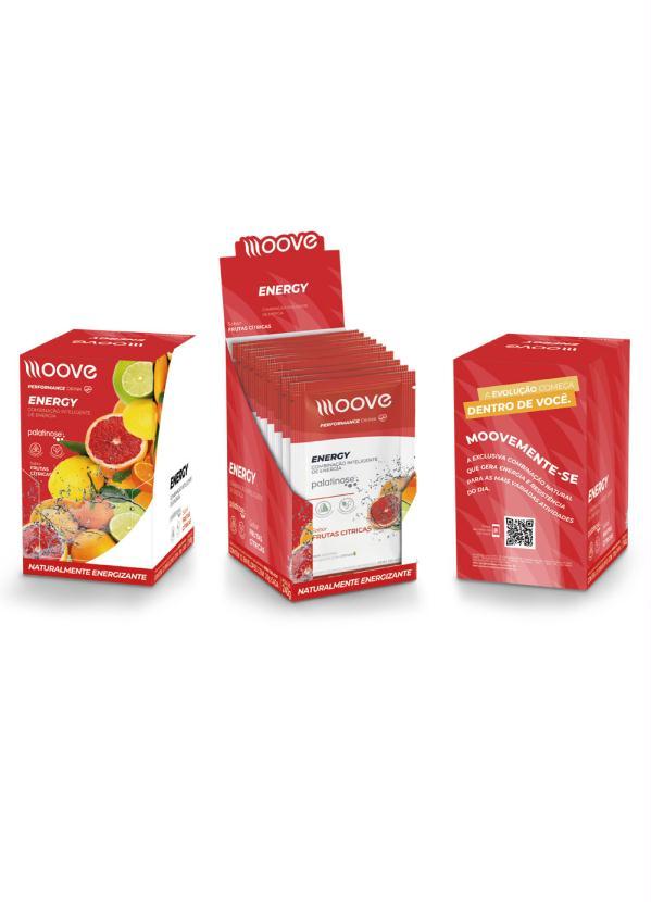 Kit 12 Drinks Energy Moove (Frutas Citricas)