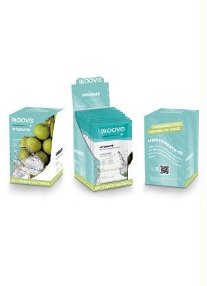 Kit 12 Drinks Hydrate Moove (Água de Coco)