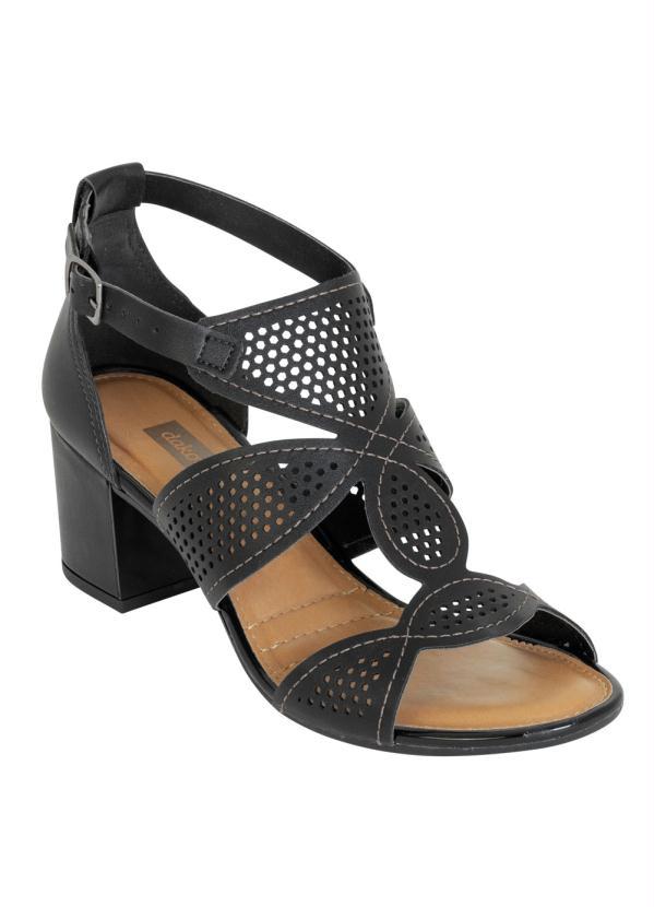 Sandália Dakota (Preto) com Perfuros