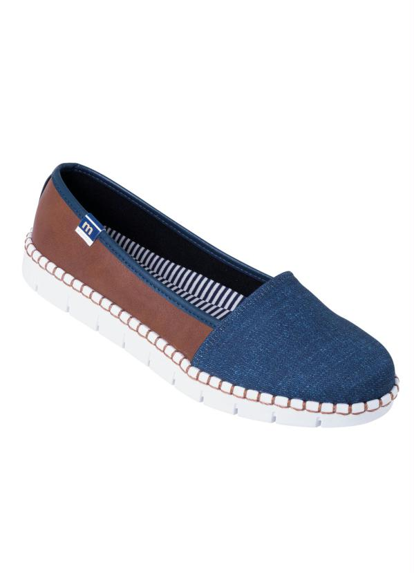 Sapatilha Moleca (Jeans) com Solado Flexível