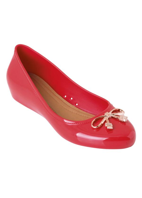 Sapatilha (Vermelha) com Salto