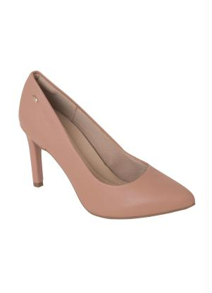 3a4ec377a Sapato Dakota Bege Bico Fino - SouLojista