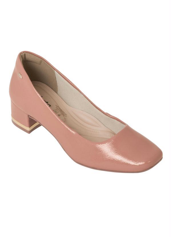 Sapato Dakota (Bege) com Salto Encapado