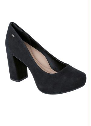 d9d7c60e2 Sapato Dakota Preto com Salto Bloco - SouLojista