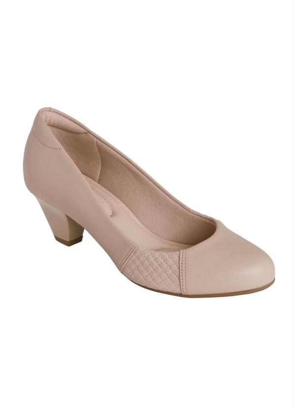 Sapato Modare (Bege) em Sintético