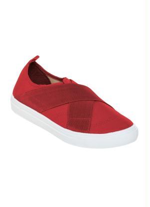 Tênis (Vermelho) em Tecido com Elástico