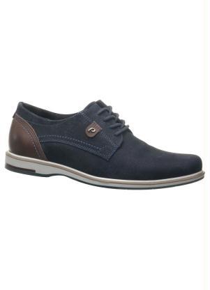 Sapato Pegada (Marinho) em Couro