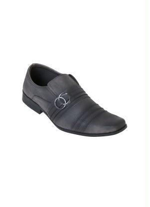 Sapato Social (Cinza) com Elástico