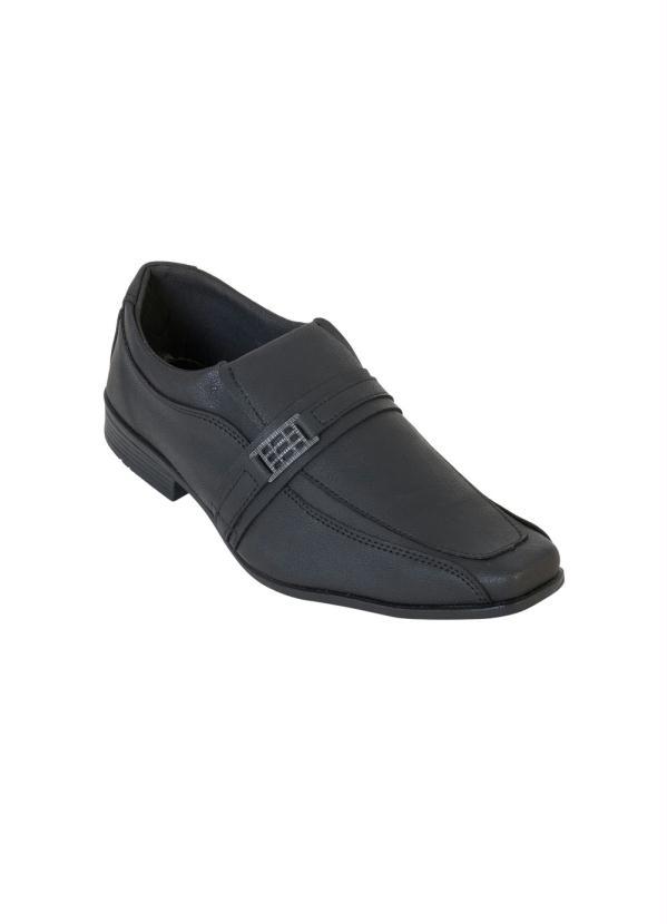 Sapato Social Preto com Elástico