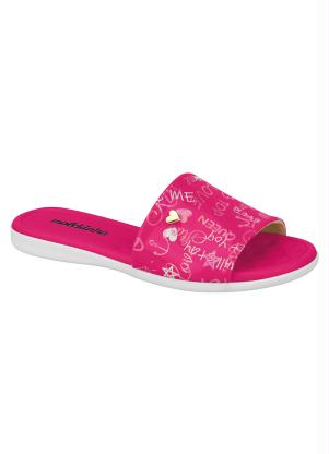 Chinelo Molekinha (Pink) com Palmilha Soft