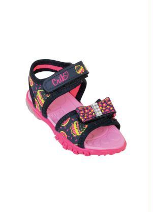 Sandália Infantil (Preta) com Velcro
