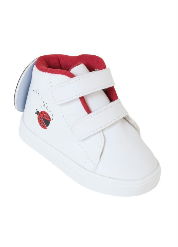 Tênis Infantil (Branco) com Velcro