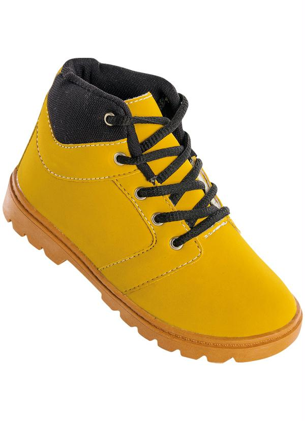 Bota Infantil (Amarela)