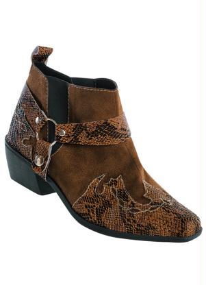 Bota Cano Curto Cowboy (Marrom) Masculina