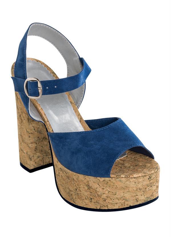 Sandália Meia Pata (Azul)