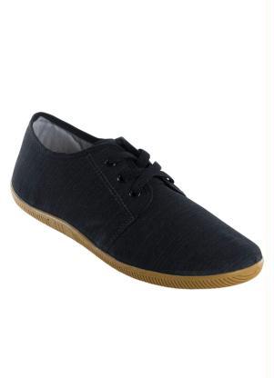 Sapatênis Masculino Jeans (Preto)