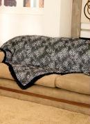 Manta para Sofá Oncinha 150 X 150 cm
