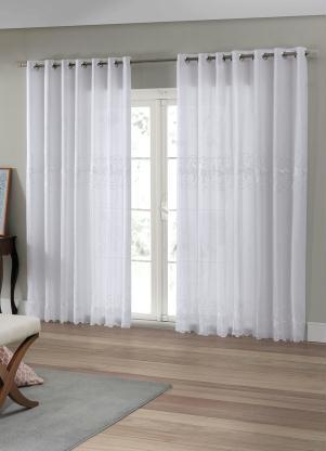 Cortina para Porta Duplex (Branca) 420x250 cm