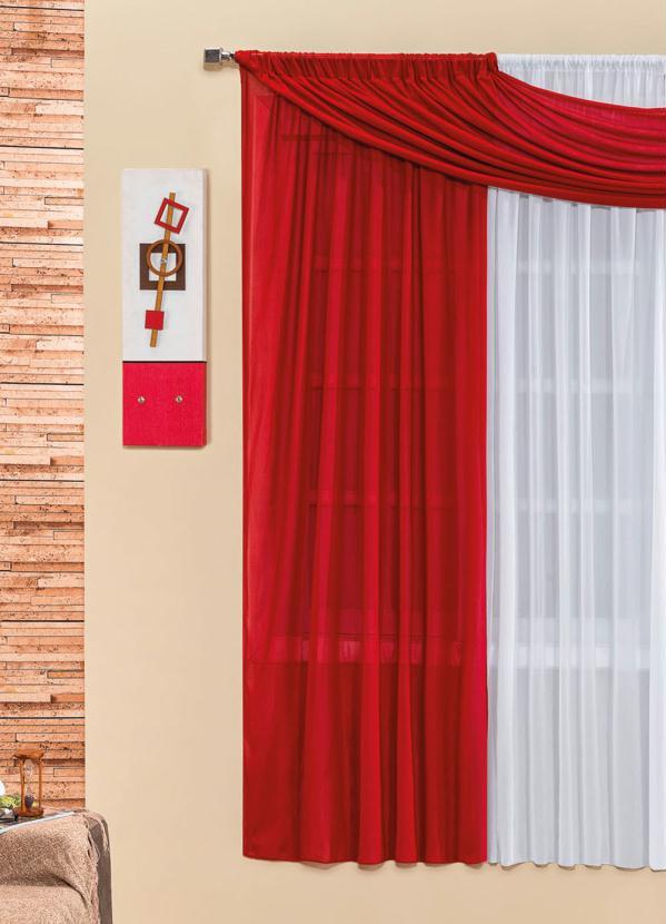 Cortina Manu 2m (Vermelha)