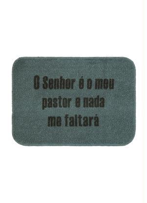 Capacho Popy Bíblico (Cinza)