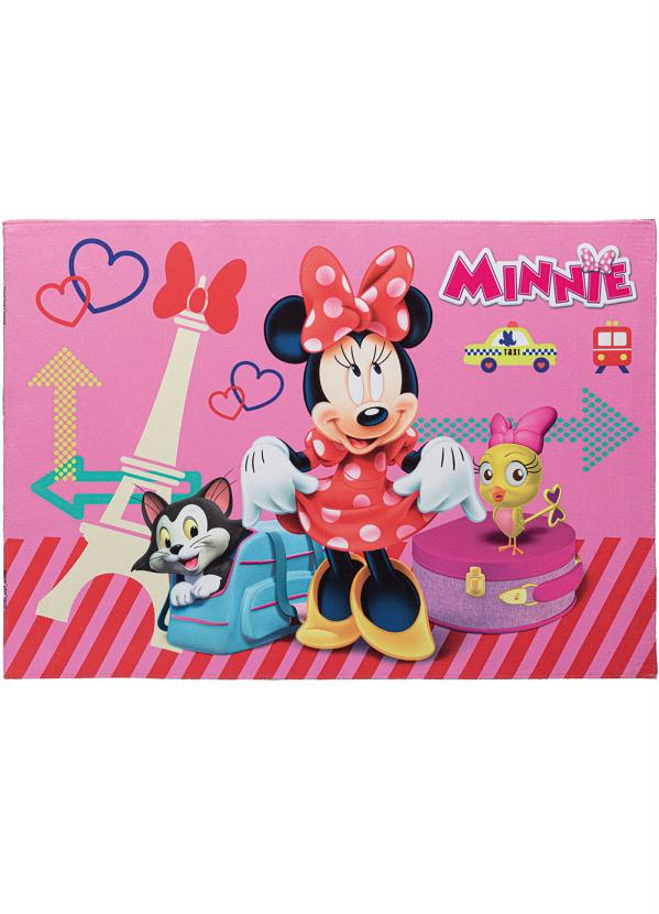 Tapete Disney (Minnie) Antiderrapante