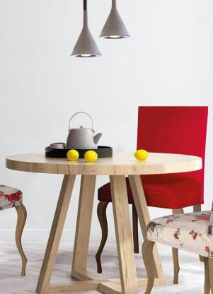 Capa de Cadeira (Vermelha) (1 Peça)