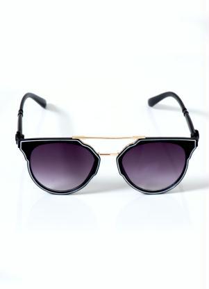 Óculos de Sol (Preto) Geométrico