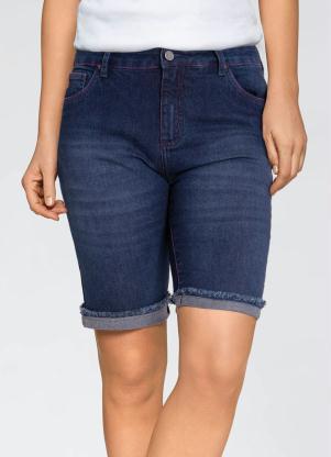 Bermuda Jeans (Azul)