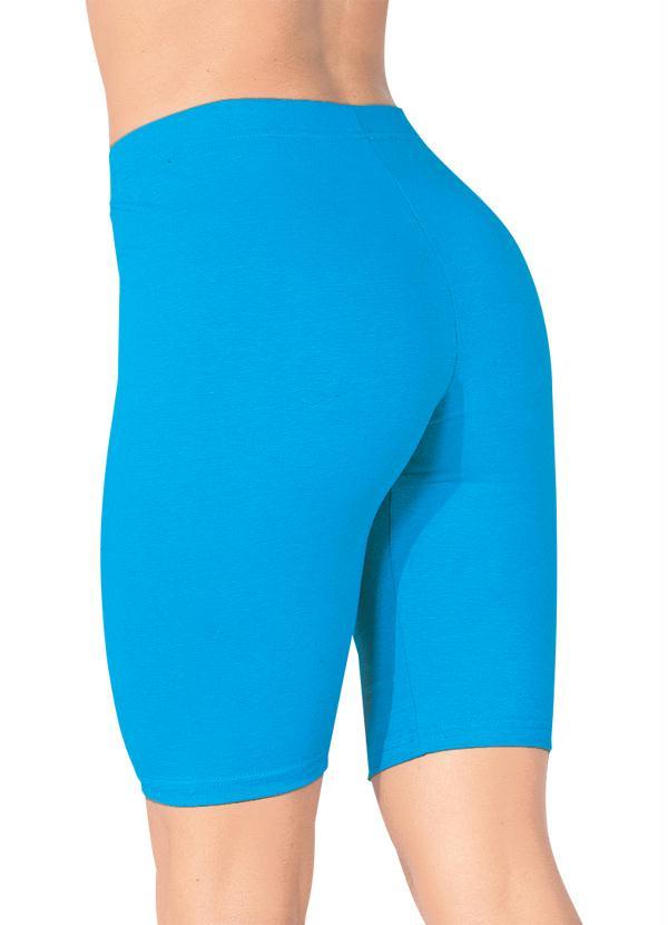 Bermuda Modelo Ciclista em Cotton (Azul)