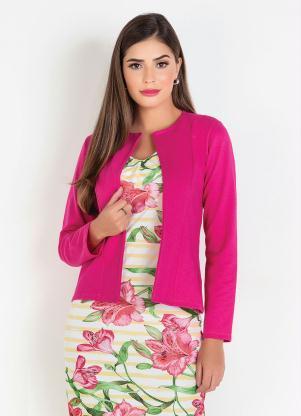 Blazer (Pink) Moda Evangélica