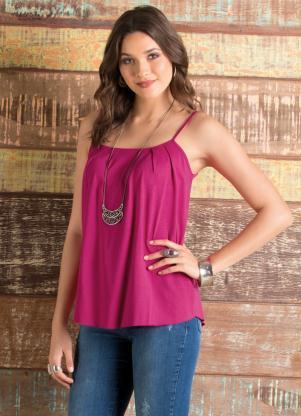 Blusa de Alça (Pink)