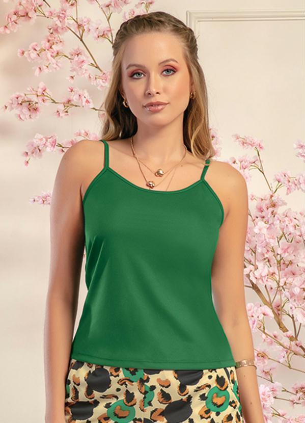 Blusa de Alça (Verde)