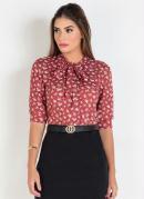 Blusa Floral Liberty Moda Evangélica