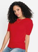 Blusa de Tricô Básica Vermelha