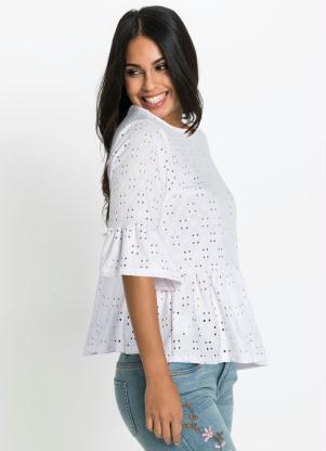 Blusa em Malha de Laise (Branca)
