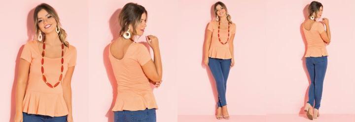6a329dcd1b Blusas - Plus Size Feminino - Quintess