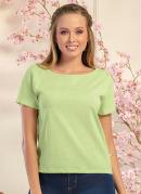 Blusa T-Shirt Básica Verde Neon