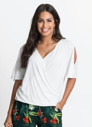 Blusa Transpassada (Branca)
