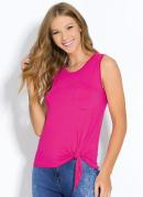 Blusa Pink com Bolso Frontal