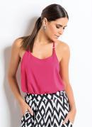 Blusa de Alça com Costas Nadador Pink