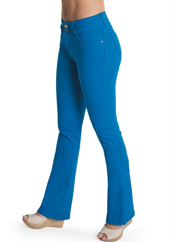 Calça Flare (Azul)