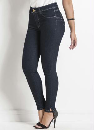 Calça Jeans Sawary Levanta Bumbum (Azul)